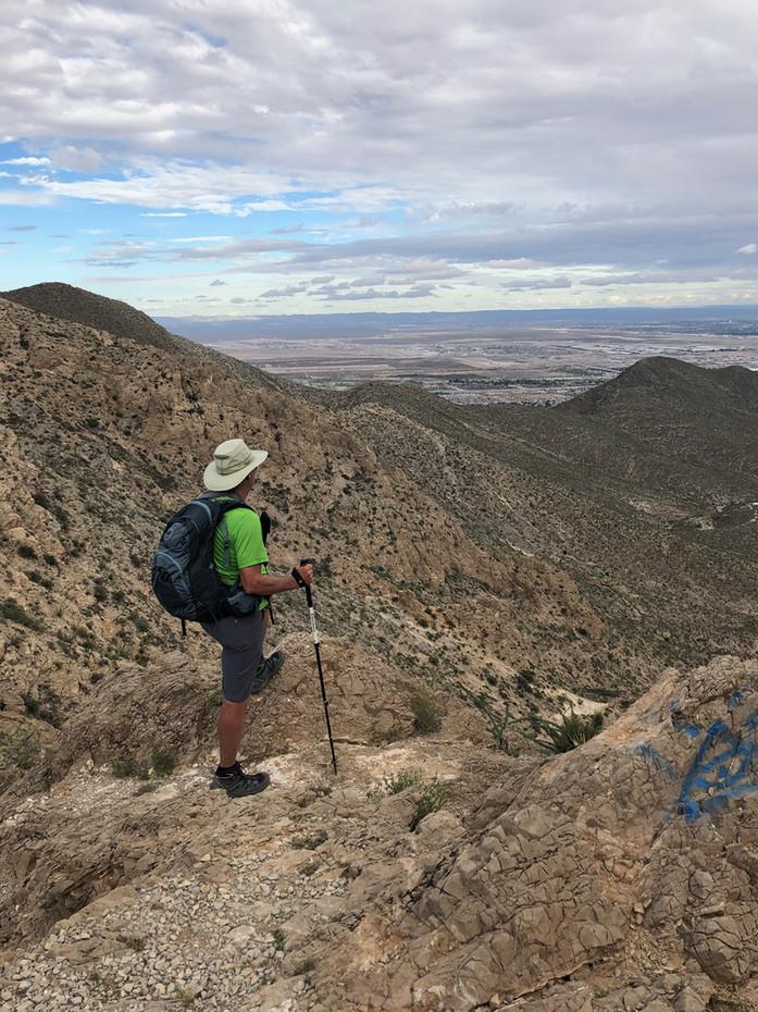 Ron Coleman Trail above McKelligon Canyon