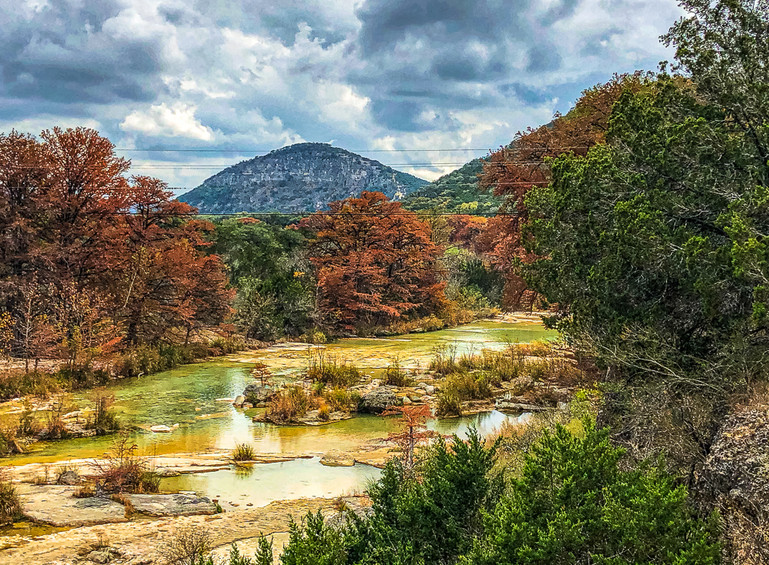 Frio River in the Fall