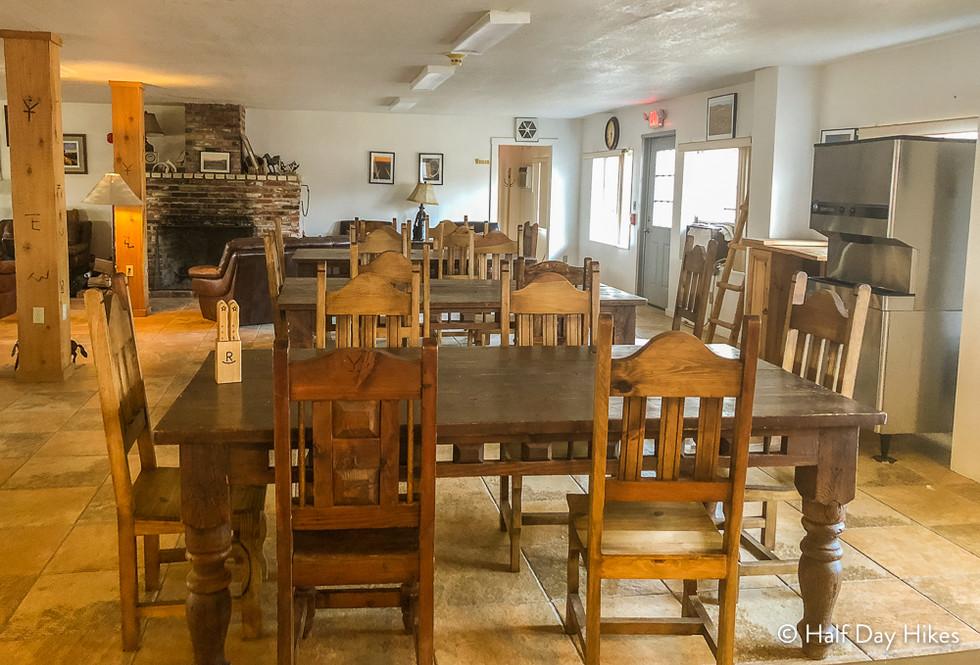 Sauceda Bunkhouse Dining Area