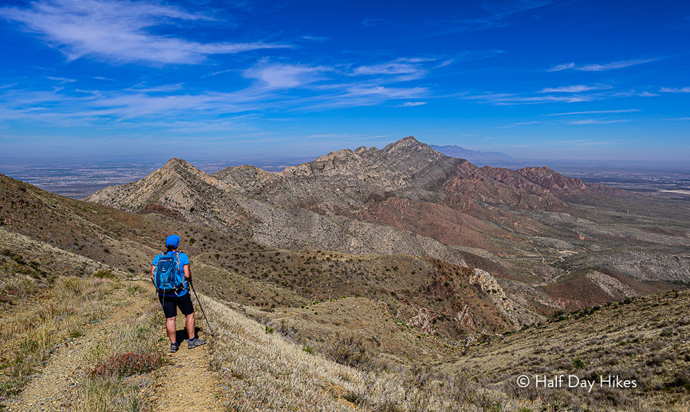 North Franklin Mountain Hike