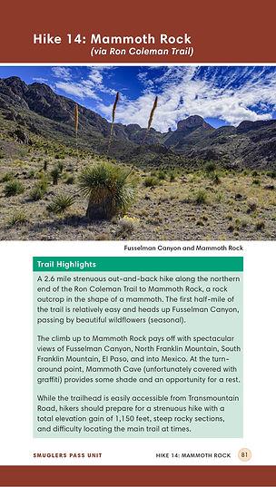 Franklin Mountains - Web - Mammoth Rock.