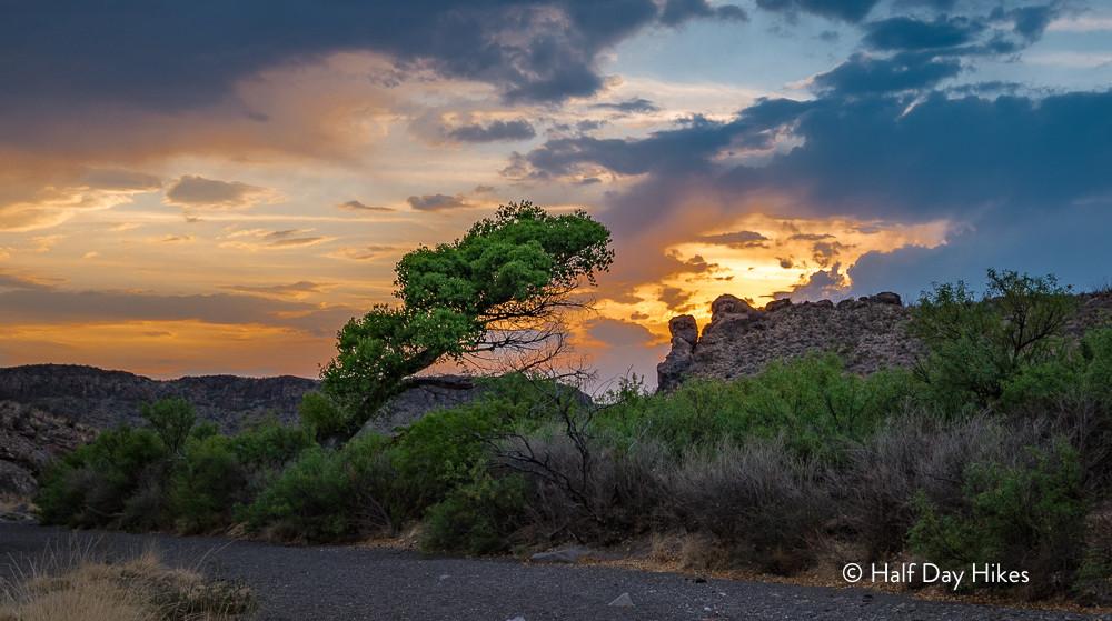 Sunset on Leyva Creek