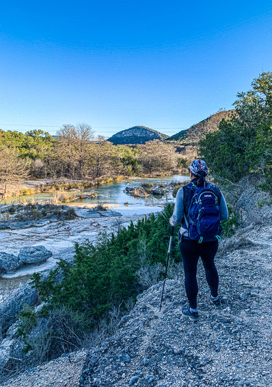 Frio Canyon Trail in the Winter