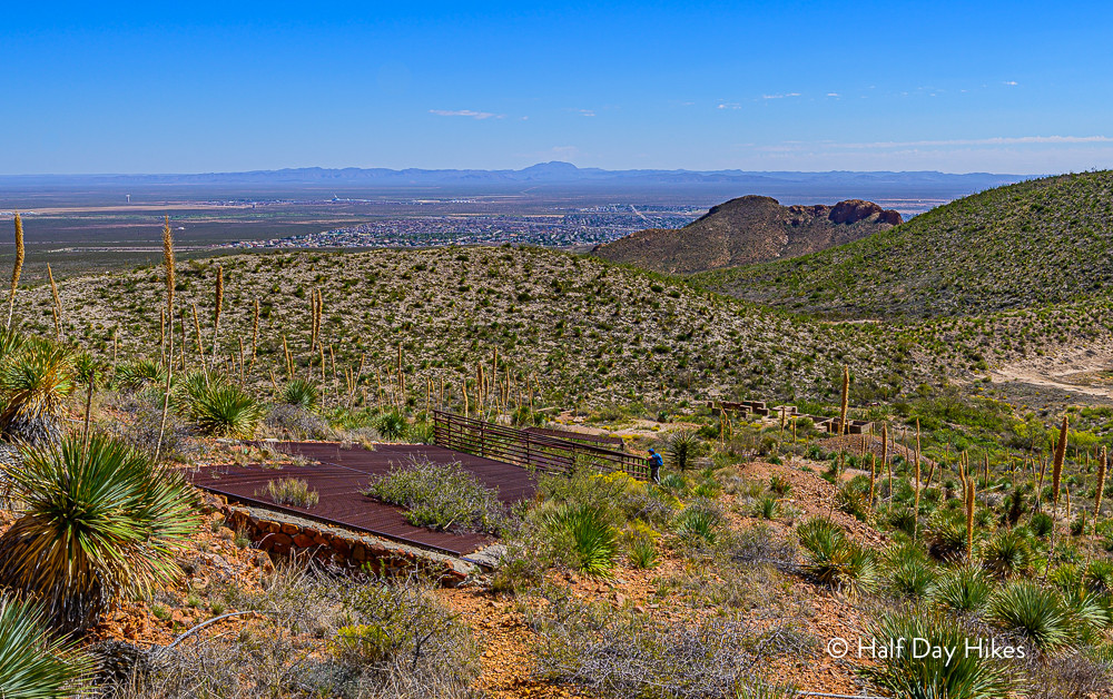 View above El Paso Tin Mine