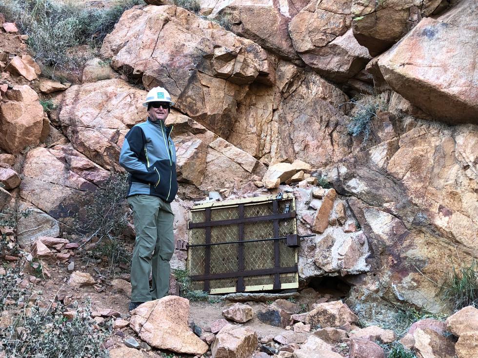 Entrance to Prospect Mine