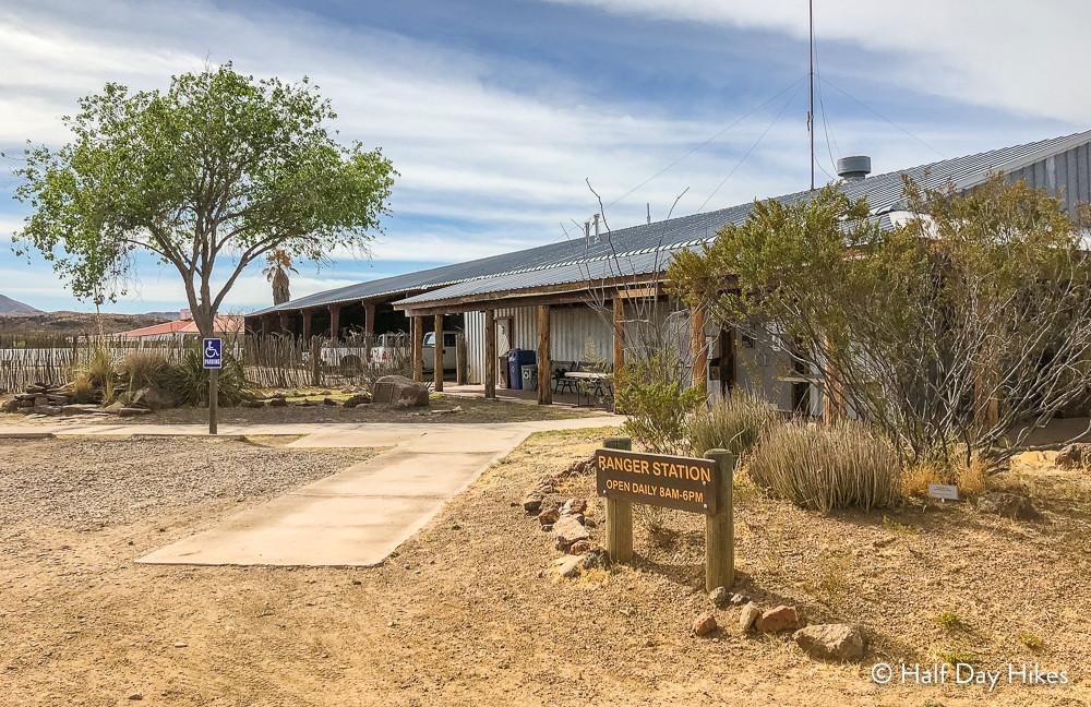 Sauceda Ranger Station