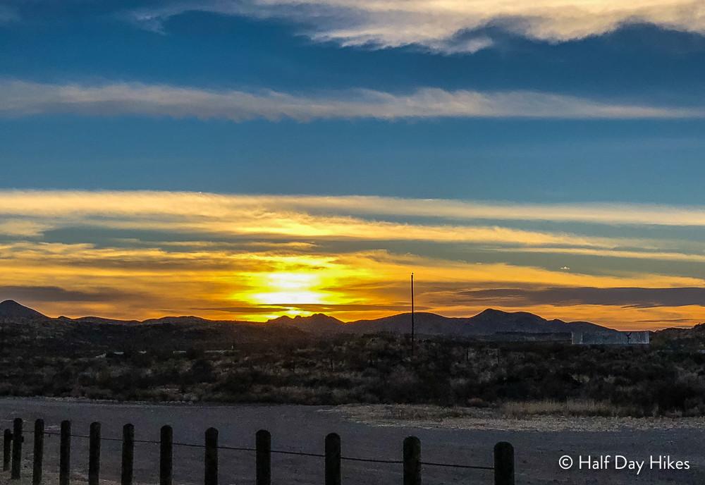 Sunset @ the Bunkhouse