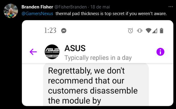 Asus se nega a responder pergunta básica de consumidor e vira chacota no Twitter