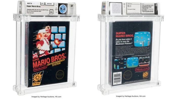 Super Mario Bros. de Nintendinho foi vendido por $660k!