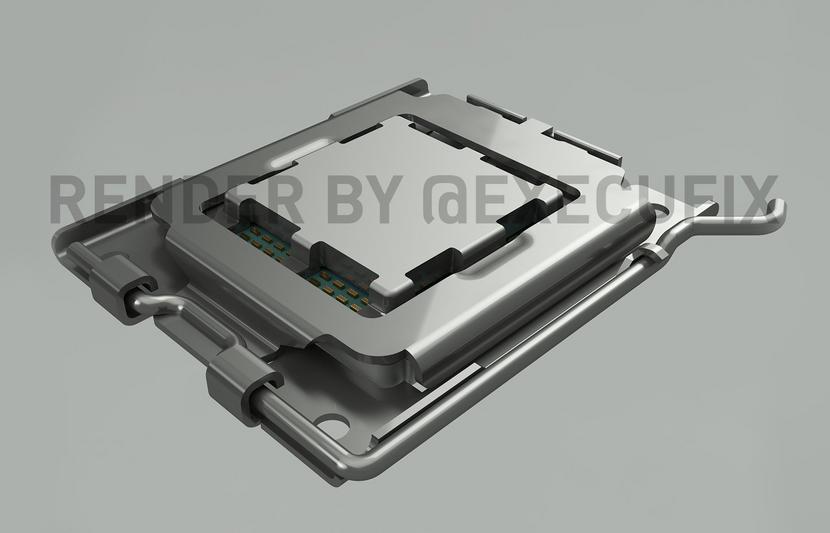 Dá uma conferida na aparência do novo Socket AM5 da AMD!