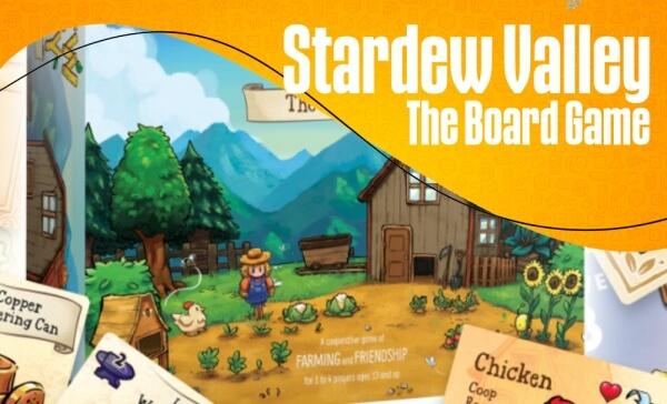 Stardew Valley surge em versão Board Game!