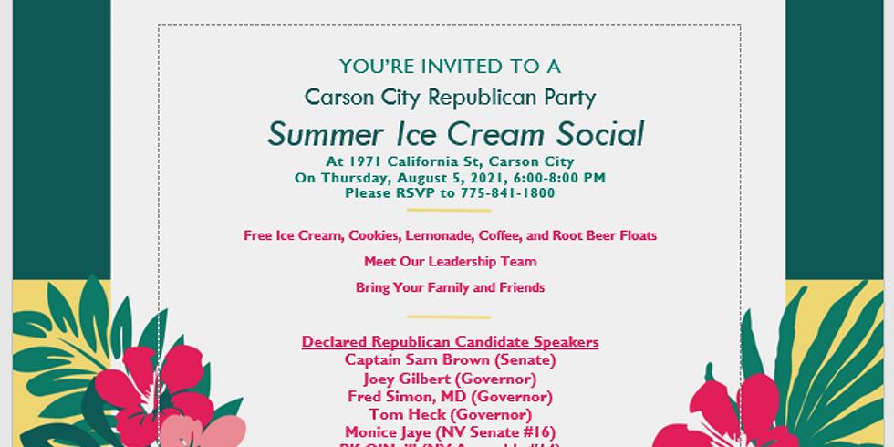CCRP Summer Ice Cream Social