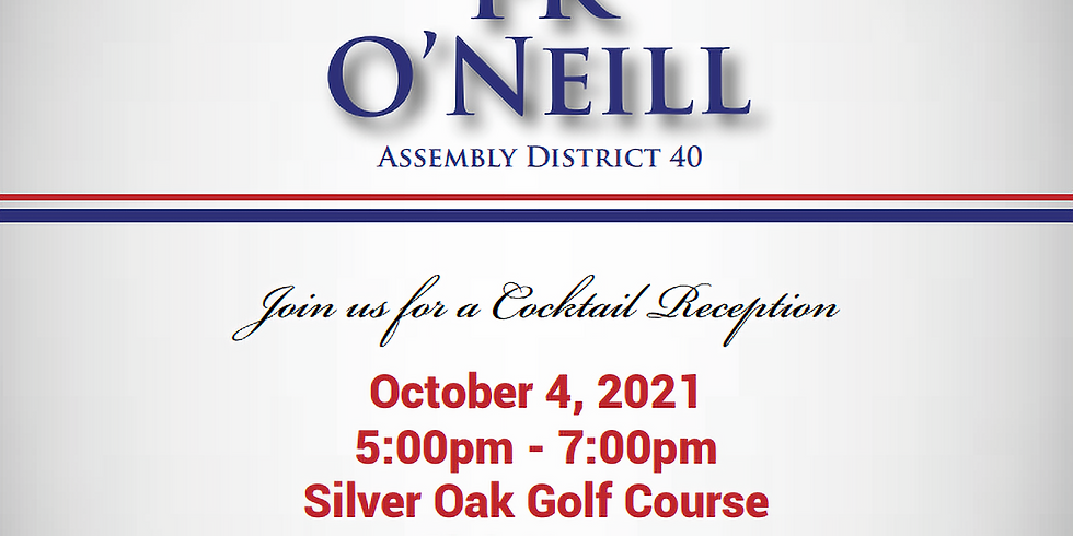 Campaign Kick Off & Fundraising Reception to help Re-Elect PK O'Neill, Assembly District 40