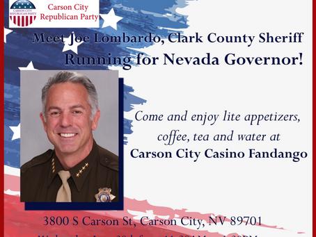 Meet Joe Lombardo, Clark County Sheriff Running for Nevada Governor