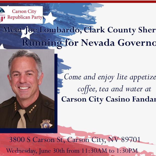 MEET JOE LOMBARDO - Clark County Sheriff is Running for Nevada Governor