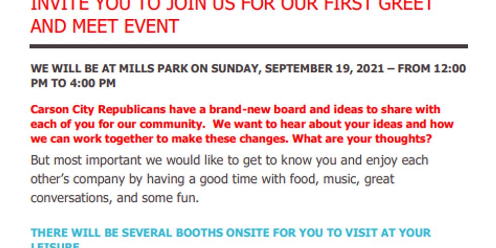 CCRP Mills Park Family Outreach - Meet and Greet - Pavillon C