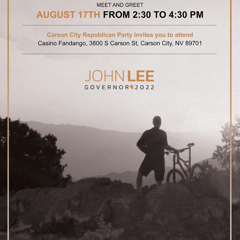 Meet and Greet John Lee