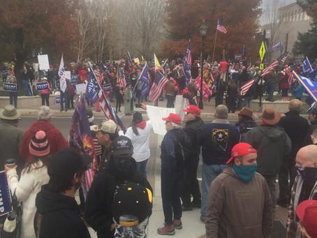Protect the True Vote Rally Saturday 28th Nov Noon at Capitol Complex