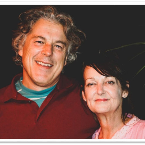 My old friend Alan Davies and I