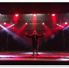 On stage at Butlins, Bognor