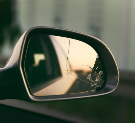 side-mirror-car-with-view-back-broken-mi