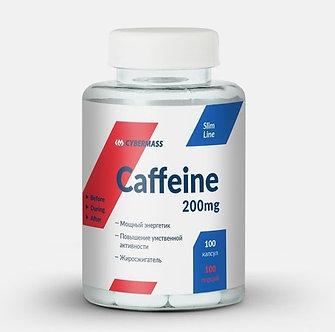 CyberMass Caffeine 200mg (100капс) (срок годности 15.10.20)