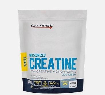 Be First Creatine Micronized Powder (500г)