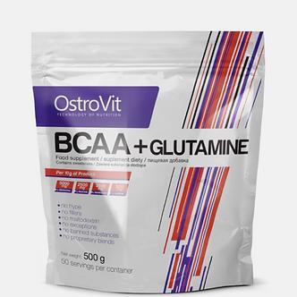 OstroVit BCAA + Glutamine (500г)
