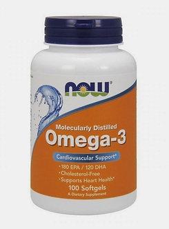 NOW Omega-3 1000mg (100капс)
