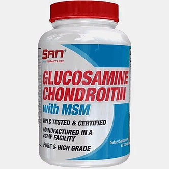 San Glucosamine Chondroitin with MSM (90капс)