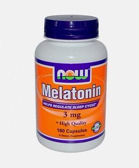 NOW Melatonin 3mg (180капс)