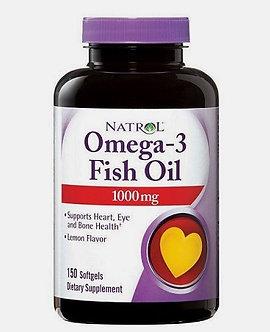 Natrol Omega 3 Fish Oil 1000mg (150капс)