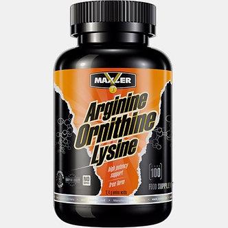 Maxler Arginine-Ornithine-Lysine (100капс)