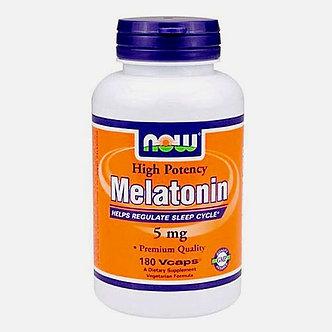 NOW Melatonin 5mg (180капс)