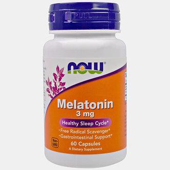 NOW Melatonin 3mg (60капс)