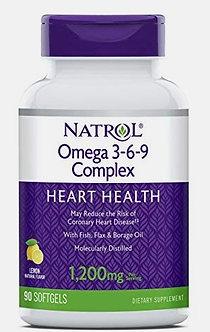 Natrol Omega 3-6-9 Complex (90капс)