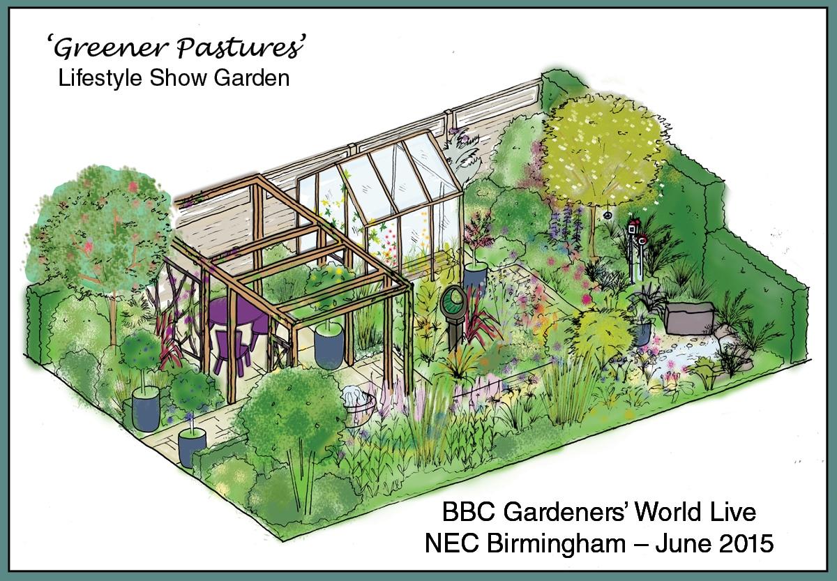Greener Pastures Show Garden