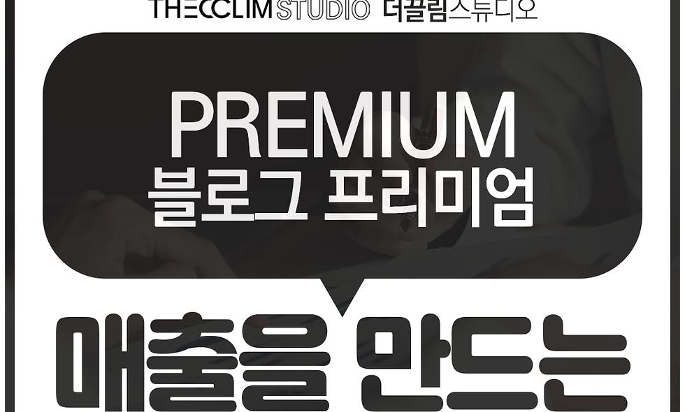 홈페이지형 블로그 - 프리미엄