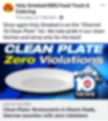 Holy Smoked BBQ food truck WPLG Local10 CLEAN PLATE