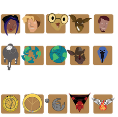 Icons of Titan A.E.