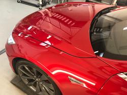Tesla Model S P85- Glascoating