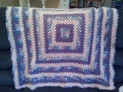 Granny Square Blanket 3a