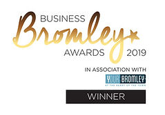 Bromley Business Awards Logo 2019 WINNER