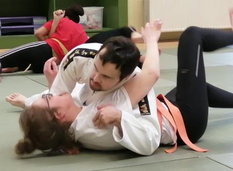 Judo initiatie in de Hogeschool Gent, opleiding Ergotherapie