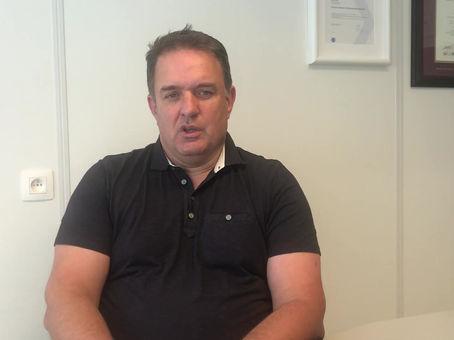 Peter Vermeir, kandidaat voor Raad van Bestuur van de Vlaamse Judofederatie.
