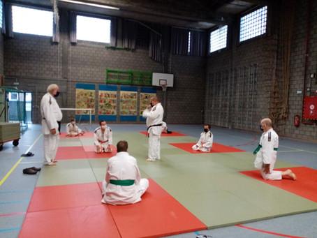 Judo bij De Buitelaars in coronatijd