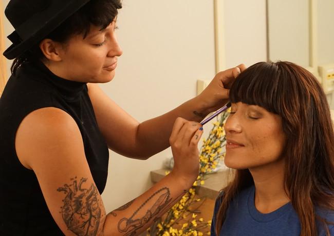 Jessica and Mindy Makeup