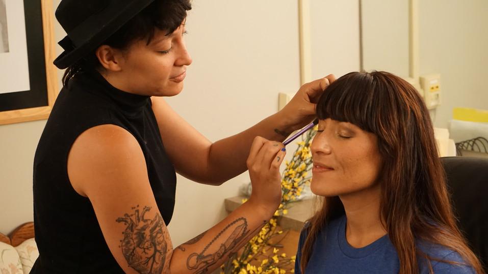 Makeup for film