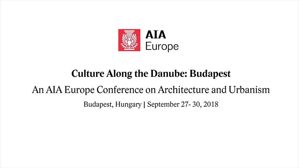 AIA Conference Budapest_2018