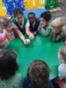 Norbury child carer working with children